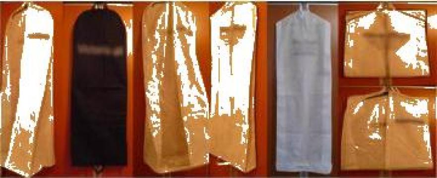 Huse de protectie pentru rochii si costume de la Asined Product Impex Srl