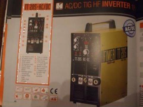 Aparat sudura inverter tig TT 205 ac/dc Fimer Italia de la Sudofim Serv Srl