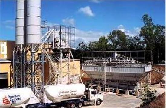 Statie prefabricate beton