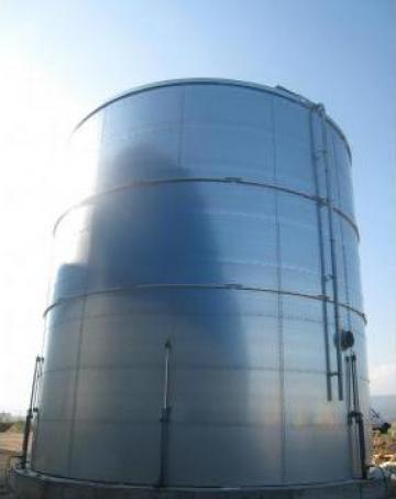 Rezervoare metalice pentru apa de la SC Prefatim Construct Srl