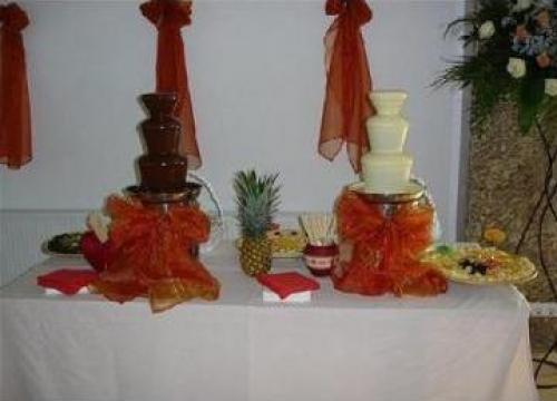 Fantana de ciocolata si fructe de la Maly Events