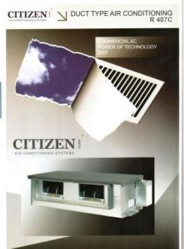 Sisteme climatizare Duct