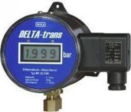 Manometru pentru presiune diferentiala Delta-trans de la Paldo Group International Sa