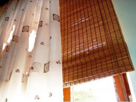 Jaluzele roman shade bambus
