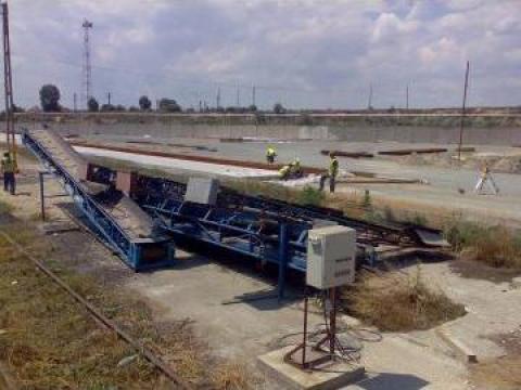 Instalatie cu benzi pentru descarcare de la Sc Euroest Operation Srl