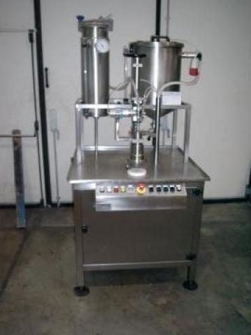 Dozator semiautomat sub vid, pneumatic sau mecanic