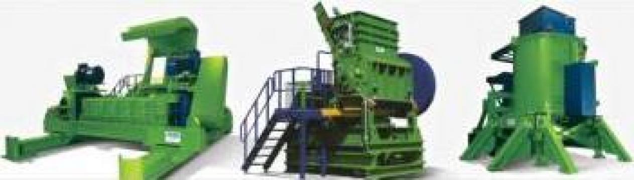Echipamente pentru reciclarea deseurilor solide de la Sc Olive Consult Srl
