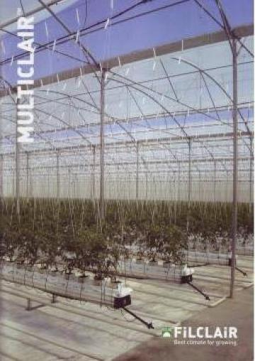 Accesorii sere, sisteme de prindere tomate, castraveti