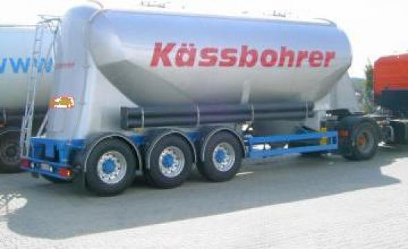 Semiremorca transport produse pulverulente SSL 35 de la Davirom Truck& Trailer