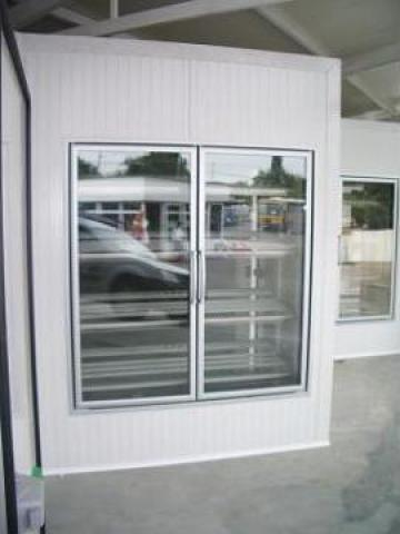Usi frigorifice transparente