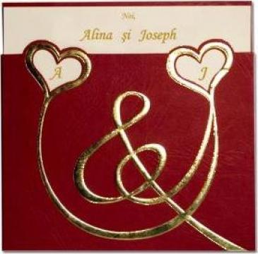 Invitatii de nunta, botez si alte ocazii de la S.c. Sting Prod S.r.l.