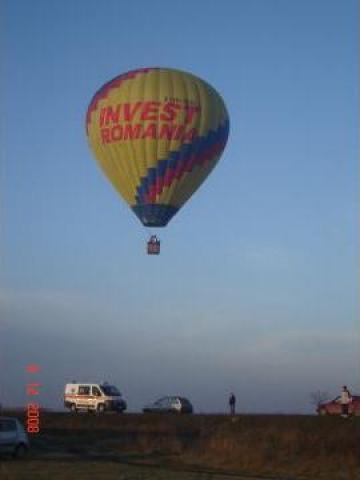 Zbor cu balonul de la John Balon