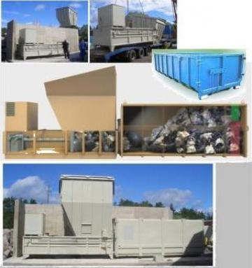 Containere compactat deseuri