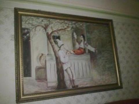 Pictura antichitati de la PFA Csillag Cristi