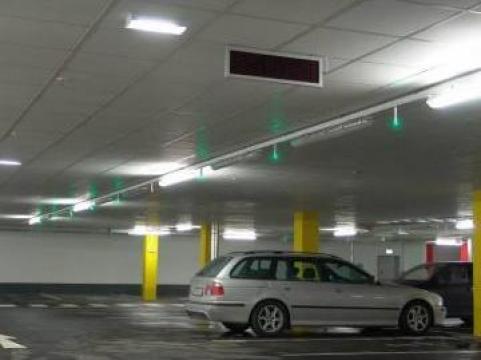 Sistem ghidaj trafic pentru parcare de la Parking Experts Srl