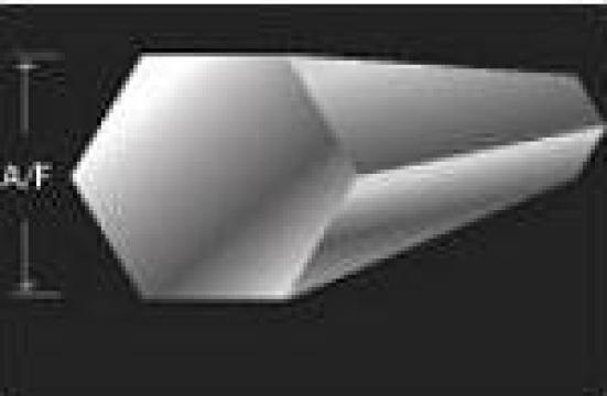 Bara hexagonala din aluminiu