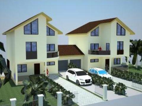 Proiect autorizatie de constructie locuinta duplex for Modele de duplex