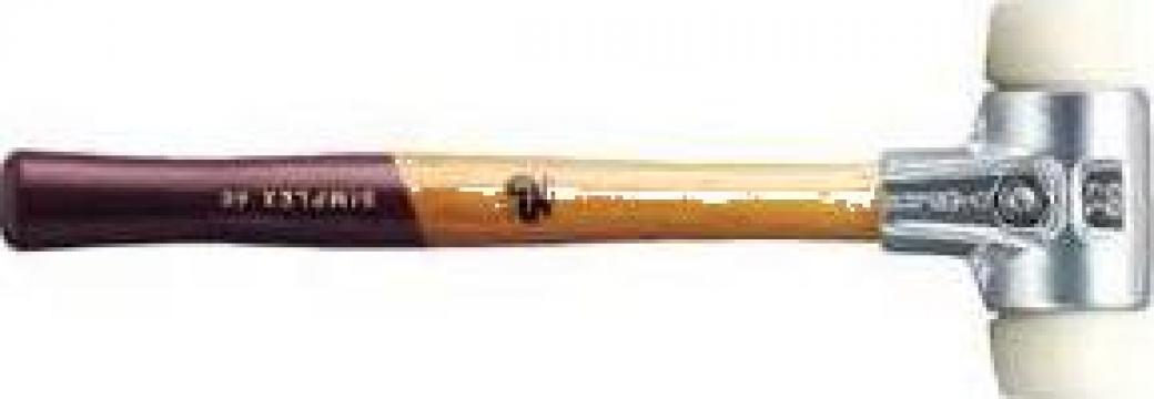 Ciocan fara recul cu capete din nylon (tare), Halder
