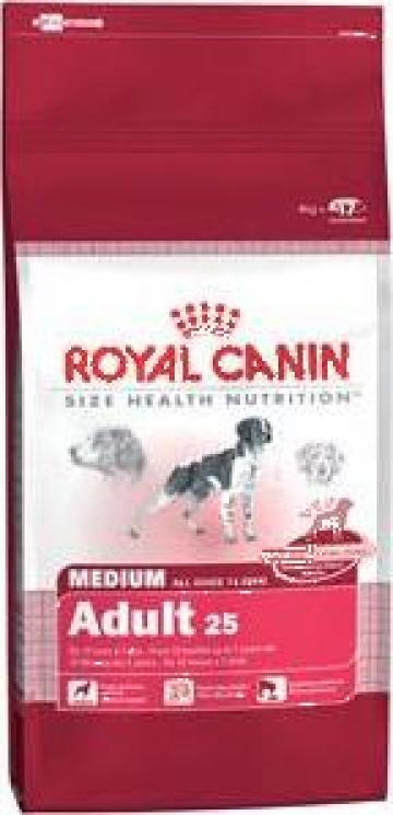 Hrana caini Royal Canin Mediu Adult 15kg de la Sc Webpromoting Srl