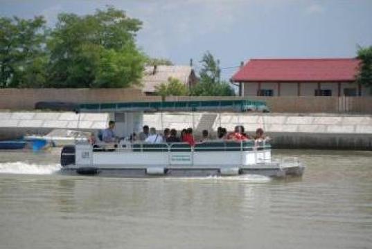 Excursii cu vaporasul si plimbari Delta Dunarii de la Deltafishing Travel
