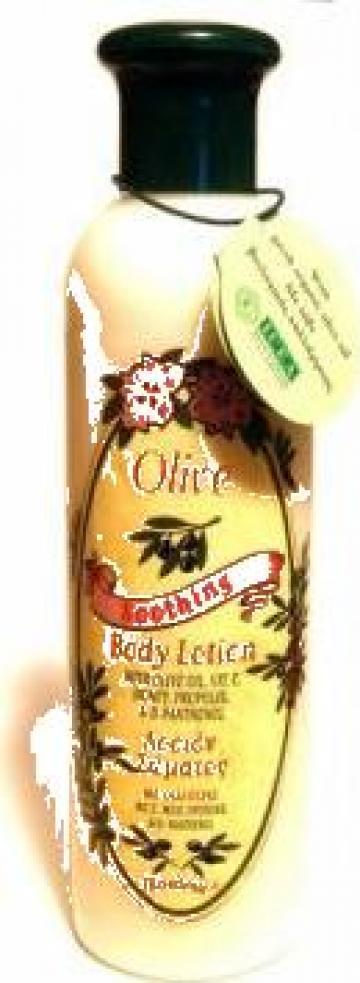 Lotiune de corp bio-organica cu ulei de masline de la Olivo Organic Srl