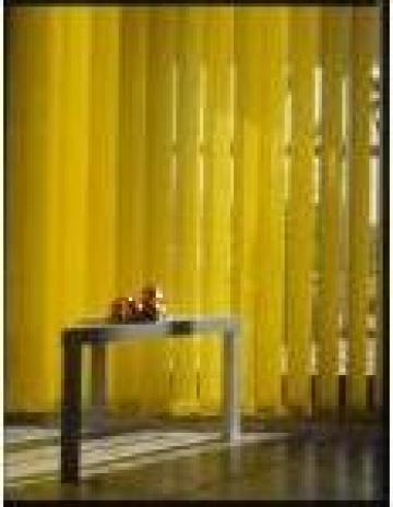 Jaluzele verticale galben solar