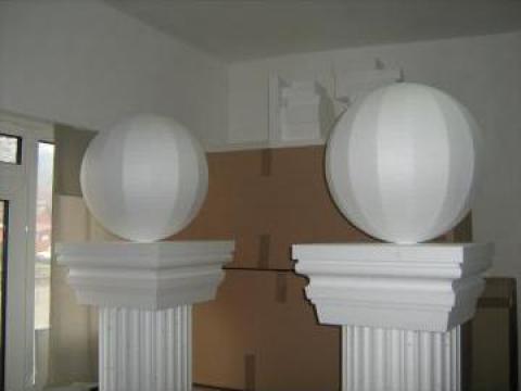Sfera ornamentala polistiren