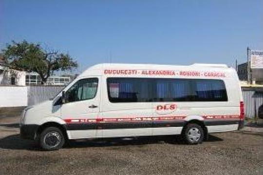 Inchiriere Microbuz Mercedes Sprinter de la Madcom Dls Impex Srl