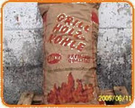 Mangal ambalat la saci sau pungi de hartie de la Coal-Dust
