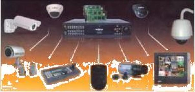 Kit sistem supraveghere video de la S.c Vonrep S.r.l.