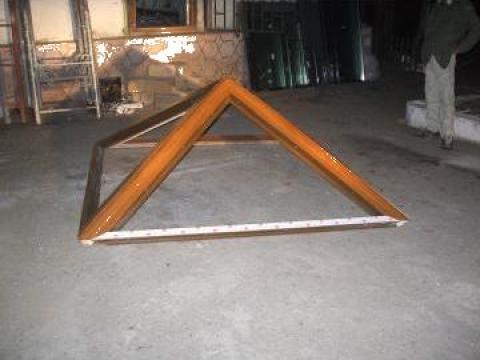 Piramida din PVC si geam termopan Constanta