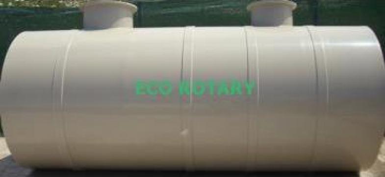 Rezervor suprateran orizontal fara suport 5000 litri de la Eco Rotary SRL