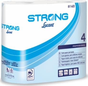 Hartie igienica Strong Lucart Select 4 de la Profesional SP Srl.