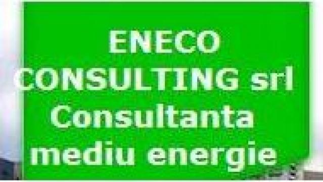 Consultanta sistem management mediu 14001/2001 de la Eneco Consulting Srl