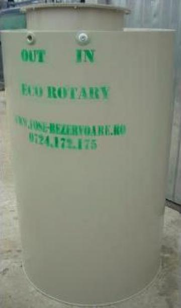 Rezervor apa vertical cu plutitor 1000 litri de la Eco Rotary SRL