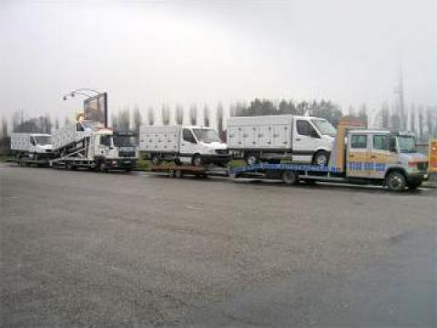 Transport auto international pe platforma de la Sc Auto Mili Srl