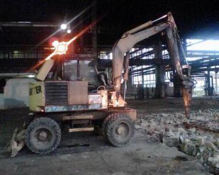 Reparatii utilaje buldoescavatoare, escavatoare cilindru