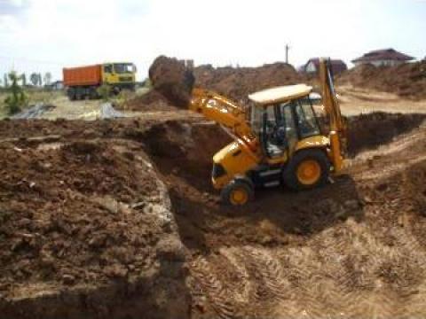 Lucrari de excavatii si sapaturi de la As Construct Srl
