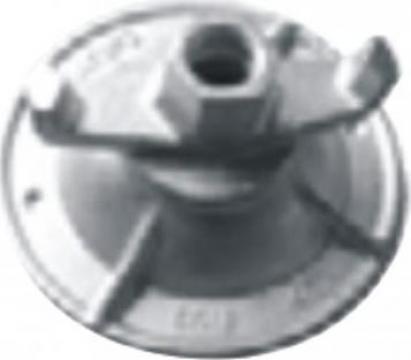 Piulite autoblocante rotunde, 90KN pentru filet tirant 15 mm de la Blackbull Com Ro
