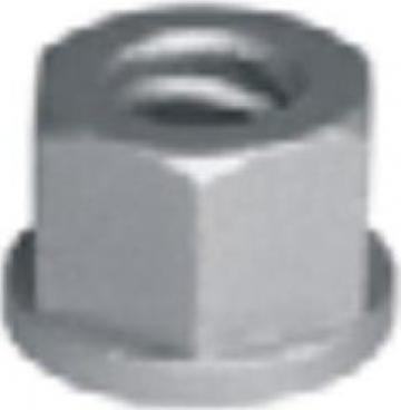 Piulita cu guler pentru tirant cofraje, filet 15 mm, 90 KN de la Blackbull Com Ro