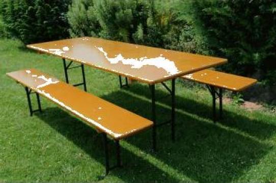 Set berarie 80x220 cm de la Sc North Wood Europe Srl
