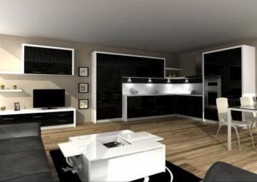 mobilier bucatarie night rain b dul biruintei 90 a prego romania id 446740. Black Bedroom Furniture Sets. Home Design Ideas