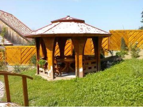 Pavilion din lemn Palma de la Tibsil S.r.l.