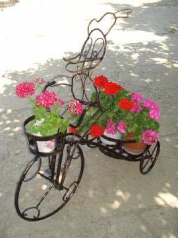 Suport Bicicleta pentru flori de la S.c. C& D Design Metal S.r.l.