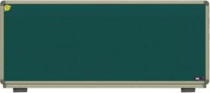 Tabla scolara magnetica 300*120 cm (verde) de la Eurodidactica Srl