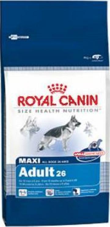 Hrana caini Royal Canin Maxi Adult 15 kg de la Sc B Smart Online Srl