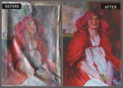 Restaurare pictura, icoane de la Elemonart
