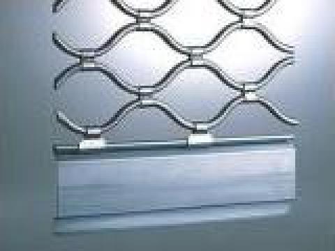Grilaj tub otel ondulat constanta de la Gamaterm Design