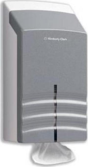 Dispenser hartie igienica Ripple, KC-6965 de la Profesional SP Srl.