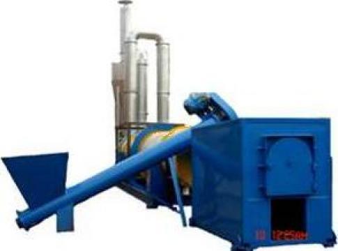 Uscator rumegus 800 - 1100 kg/h, rotativ de la Haba Hallenbausatz